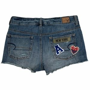 AMERICAN EAGLE OUTFITTERS New York Jean Shorts -4